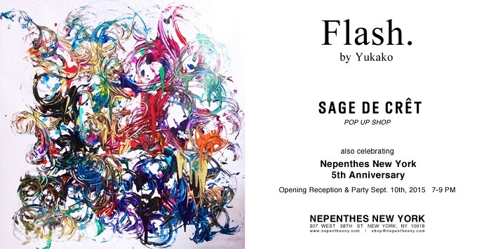 SAGE DE CRÊT pop-up store  ---  NEPENTHES NEW YORK