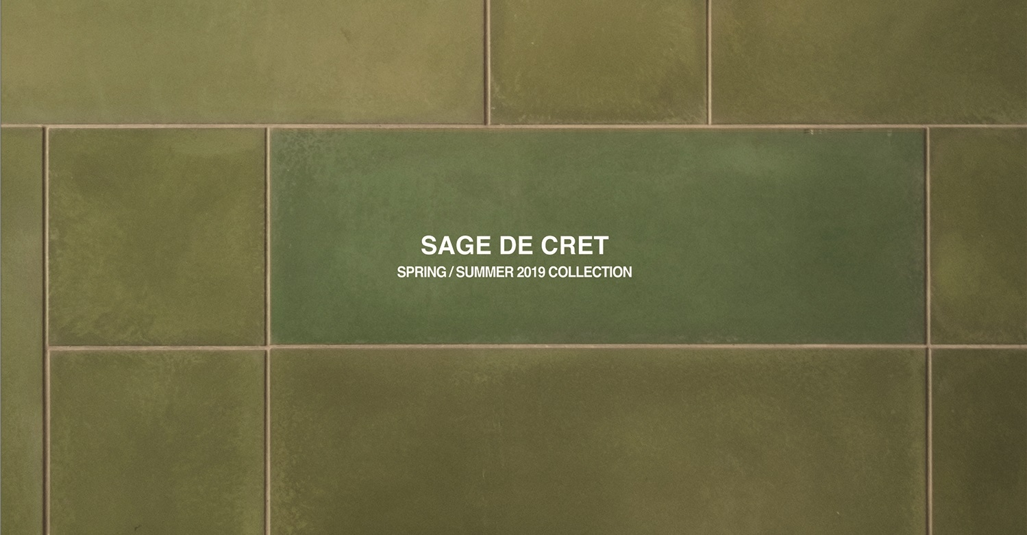 SAGE DE CRET SPRING / SUMMER 2019 COLLECTION SCHEDULE